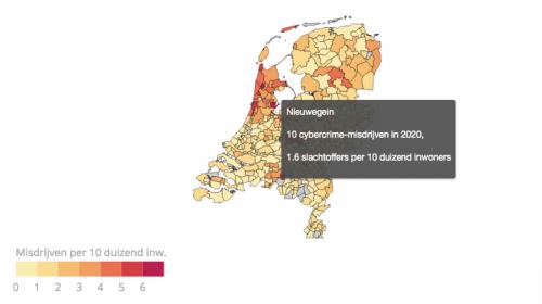 Vijf keer zoveel Cybercrime in Nieuwegein ten opzichte van 2018