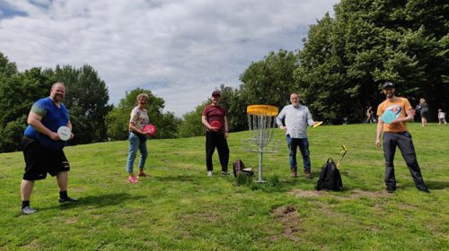 Disc Golf parcours in Park Oudegein opgepimpt