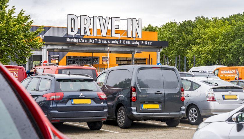 HORNBACH Drive In Nieuwegein maandag 6 juli officieel open