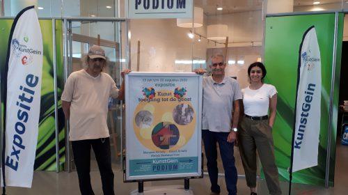 Kunstenaars uit Irak en Iran exposeren in KunstGein Podium