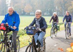 Fietsdag'met plezier langer samen fietsen'