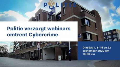 Politie verzorgt webinars omtrent Cybercrime