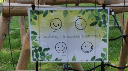Bewoners Zuilenstein verbaasd over afsluiten speeltoestellen Park Kokkebogaard