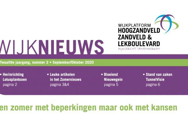 De wijkkrant voor Hoogzandveld, Zandveld & Lekboulevard is af
