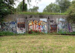 Mysterieuze muur in Huis de Geer