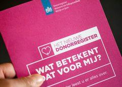 23.800 Nieuwegeiners ontvangen brief voor invullen keuze Donorregister