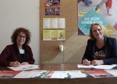 Ondertekening convenant DE KOM en De Kunstkombinatie
