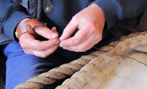 Museumwerf organiseert cursussen 'Zeilmaken' en 'Knopen & Splitsen'