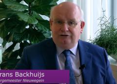 Videoboodschap burgemeester Frans Backhuijs: 'Heb aandacht voor elkaar'