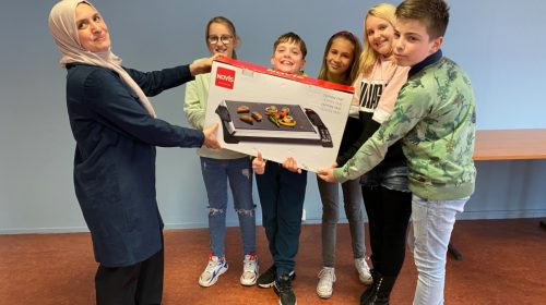 Warme samenwerking tussen de Kinderambassadeurs en Stichting Balans in Nieuwegein