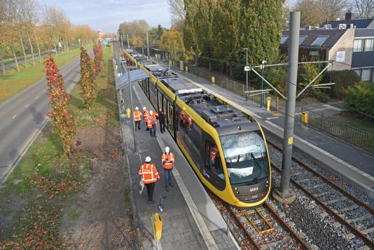 Tram 61 zou vandaag eindelijk naar IJsselstein rijden; hij rijdt niet
