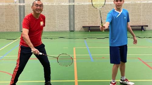 Nieuwegeiner Eric Martherus richt Badmintonschool Utrecht op