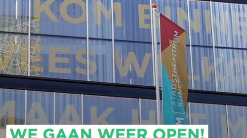 Theater DE KOM mag weer open voor publiek