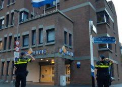 Politie in Nieuwegein stond maandag stil bij het overlijden van een collega