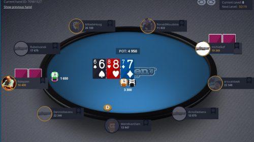 Nieuwegeinse voorronde Open NK Poker