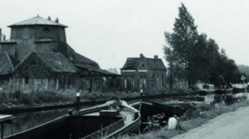 Toen & Nu: 'De stellingmolen van Verloop anno 1965'