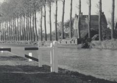 Toen & Nu: 'Het tolhek op het Hooglandse Jaagpad'
