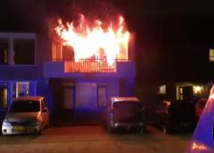 Video-update: 'Brand in bankstel in woning aan de Mandolahof'