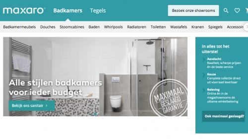 Slaag maximaal voor badkamers en tegels bij Maxaro Utrecht
