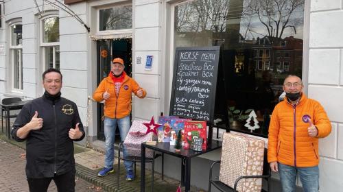 Team KiKa Nieuwegein en 'The Good Food, koop lokaal'