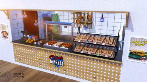 Oosterlicht College Nieuwegein eerste school met concept Super Market