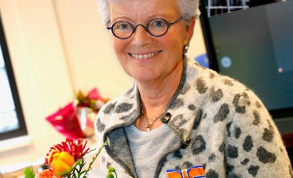 Koninklijke onderscheiding voor juf Gonnie Boerma-Sijbrandij