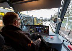 Nieuwe serie testritten op tramlijn 61 tussen Utrecht en IJsselstein