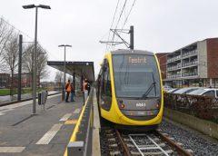 Nieuwe trams rijden test op 21 februari tussen Utrecht en IJsselstein