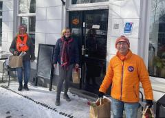Wethouder Ellie Eggengoor even in dienst voor Team KiKa Nieuwegein