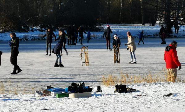 Dit weekend laatste dag schaatsen op natuurijs