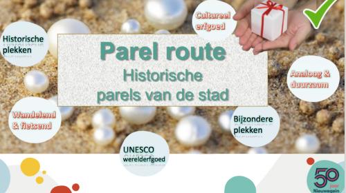 Inwoners uit Nieuwegein krijgen een wandel/fietsroute cadeau omdat Nieuwegein 50 jaar bestaat