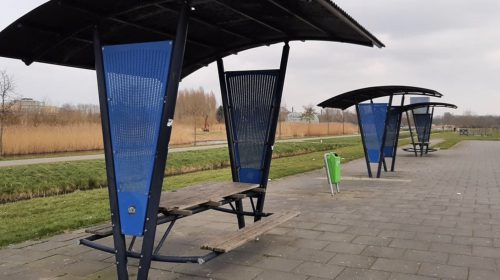 Bankjes in Skatepark Galecop krijgen Wifi punten