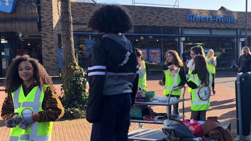 Kinderambassadeurs Nieuwegein deelden complimenten uit