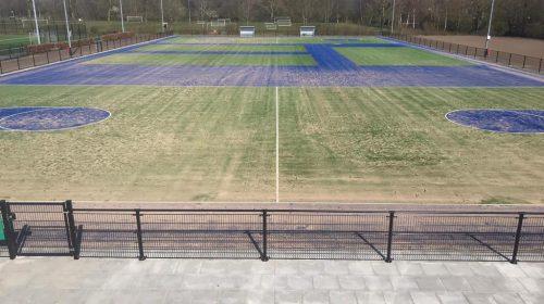 Korfbalvereniging Koveni blij met nieuwe velden