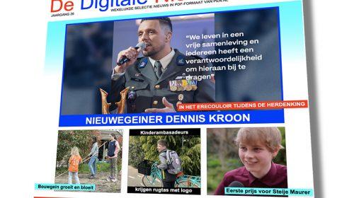 Hij is weer af: 'De Digitale Nieuwegeiner'