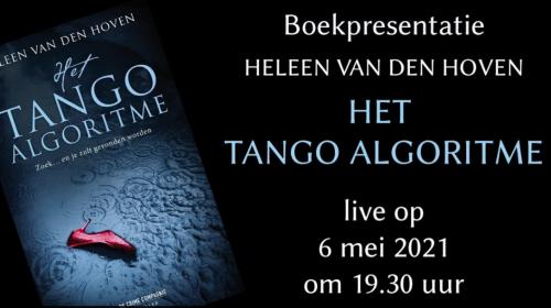 Boekentips voor Moederdag en de boekpresentatie Het Tango algoritme