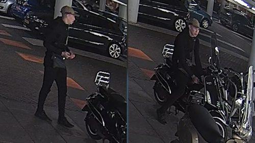Politie zoekt vliegensvlugge scooterdief