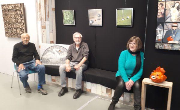 Expositie: 'Opposites attract' in KunstGein Podium