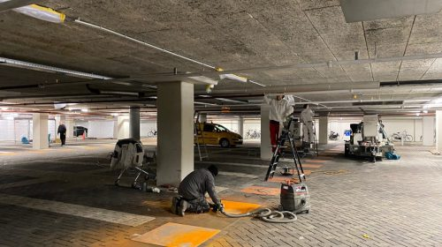Renovatie Parkeergarage Cityplaza