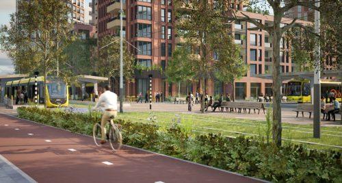 Dura Vermeer bouwt nieuwe tramhalte voor City Nieuwegein