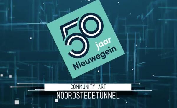 Creatieve kunstenaars gezocht voor bijzondere verhalen op wand Noordstedetunnel