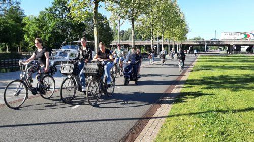 'In Nieuwegein geldt het recht van de snelste'