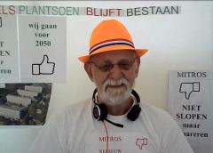 Pedro de Leeuw voert actie om 'tube-flats' te renoveren