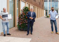 Nieuwegeiner Remco Kompier bekroond na heldhaftige redding