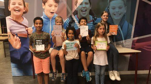 Kinderen Zuiderkroonschool schrijven eigen boek