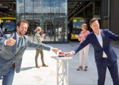 Nieuwe busremise duurzame uitvalsbasis voor Utrechts OV