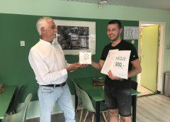 Eerste BLOOMS Award voor Richard Rietveld van OBS De Veldrakker