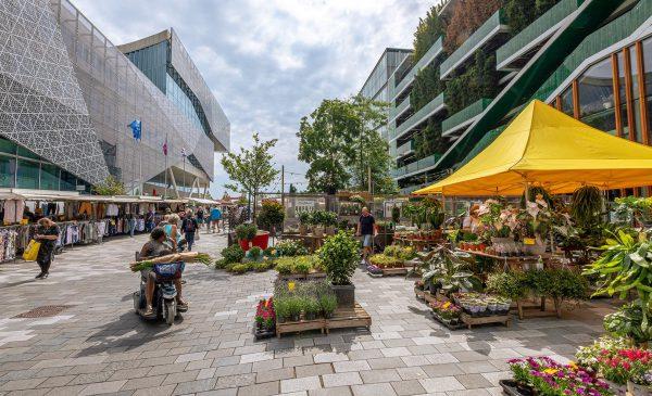 Markt in de binnenstad van Nieuwegein volgend jaar 'ietsie' verplaatst