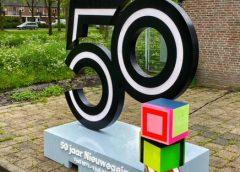 Beeldend kunstenaar Sjoerd Visser met uniek project door de stad