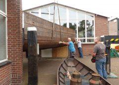 Bijzondere doorgang bij Museumwerf Vreeswijk